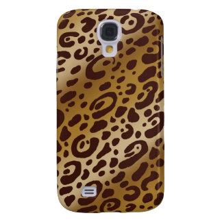 Caso duro del estampado leopardo vivo de HTC