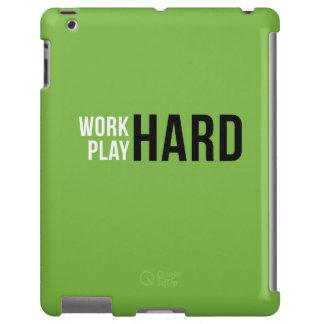 Caso duro del ipad del juego duro del trabajo