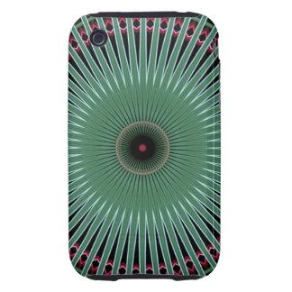 caso duro del iPhone 3/3GS de la flor del desierto iPhone 3 Tough Fundas