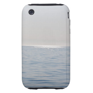 Caso duro del iPhone 3 azules del mundo Tough iPhone 3 Funda