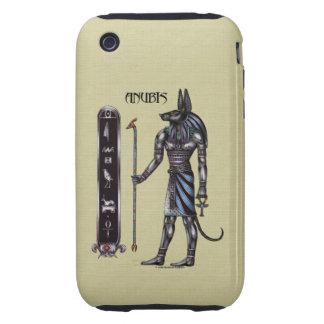 Caso duro del iPhone 3 de Anubis iPhone 3 Tough Carcasas