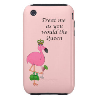Caso duro del iPhone 3G/3GS de la reina del Tough iPhone 3 Cárcasa