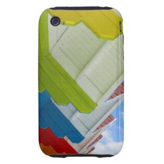 Caso duro del iPhone 3G/3GS de las chozas de la Tough iPhone 3 Carcasas