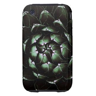 Caso duro del iPhone 3G/3GS del cactus del agavo Tough iPhone 3 Fundas