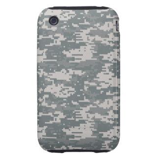 Caso duro del iPhone 3G/3GS del camuflaje de Tough iPhone 3 Funda