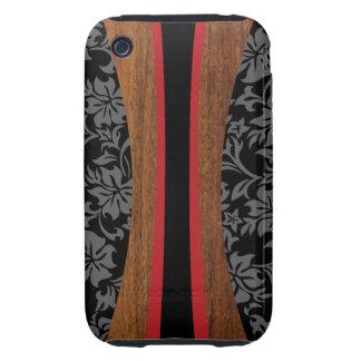 Caso duro del iPhone 3GS de la tabla hawaiana Carcasa Though Para iPhone 3