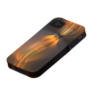 Caso duro del iPhone 4 anaranjados Case-Mate iPhone 4 Carcasa