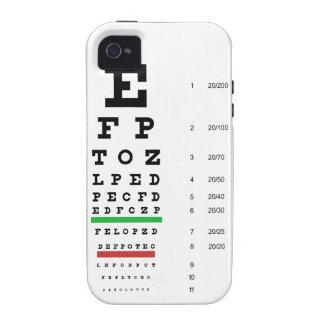 Caso duro del iPhone 4 de la carta de ojo de iPhone 4/4S Funda