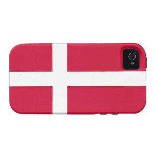 Caso duro del iPhone 4 de la casamata de Dinamarca iPhone 4 Fundas