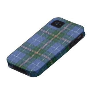 Caso DURO del iPhone 4 del tartán de Nueva Escocia iPhone 4 Fundas