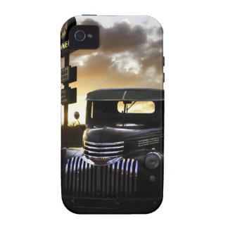 Caso duro del iPhone 4 viejos del camión de Chevy Vibe iPhone 4 Carcasas