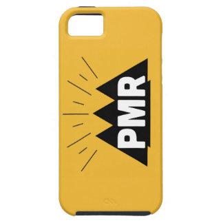 Caso duro del iPhone 5/5S del logotipo de PMR Funda Para iPhone 5 Tough