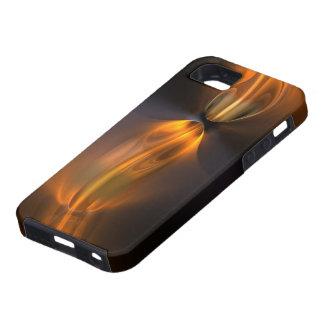 Caso duro del iPhone 5 anaranjados Funda Para iPhone 5 Tough