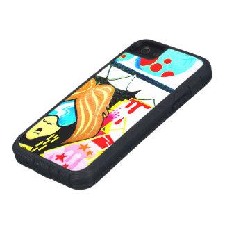 Caso duro del iPhone 5 de la pintada Cool-2 Xtreme iPhone 5 Case-Mate Protector