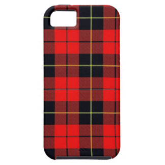 Caso duro del iphone 5 de la tela escocesa de iPhone 5 carcasa