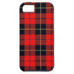 Caso duro del iphone 5 de la tela escocesa de Wall iPhone 5 Protector