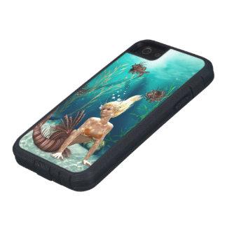 Caso duro del iPhone 5 de Xtreme de la sirena del iPhone 5 Funda