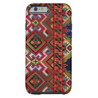Caso DURO del iPhone 5 del bordado de Ucrania
