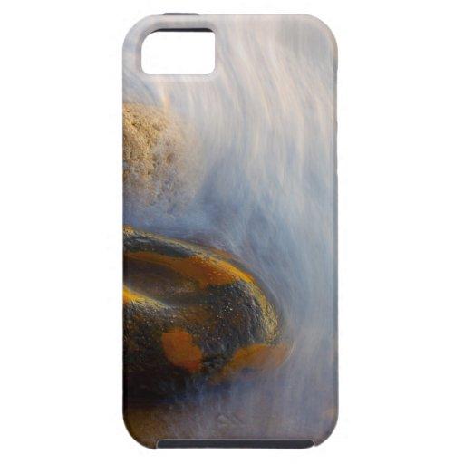 Caso duro del iPhone 5 hermosos de la agua corrien iPhone 5 Protector