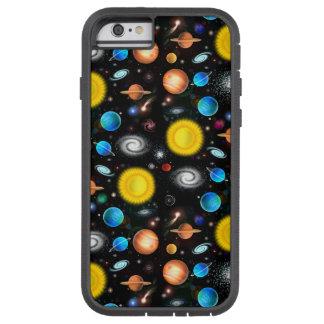 Caso duro del iPhone 6 coloridos de la astronomía Funda Para iPhone 6 Tough Xtreme