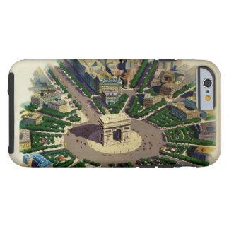 Caso duro del iPhone 6 de Arco del Triunfo París Funda De iPhone 6 Tough