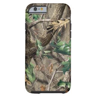 Caso duro del iPhone 6 de Camo del cazador Funda Resistente iPhone 6