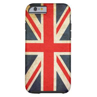 Caso duro del iPhone 6 de la bandera británica Funda De iPhone 6 Tough