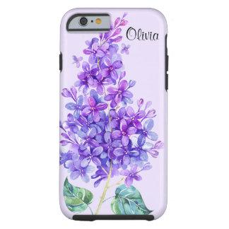 Caso duro del iPhone 6 de la lila púrpura colorida Funda De iPhone 6 Tough
