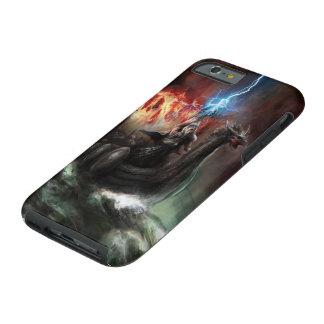 Caso duro del iPhone 6 de la nave de Viking del Funda Resistente iPhone 6