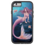 Caso duro del iPhone 6 de la sirena del Goldfish Funda De iPhone 6 Tough Xtreme