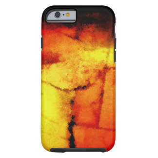 Caso duro del iPhone 6 de las ilustraciones Funda De iPhone 6 Tough