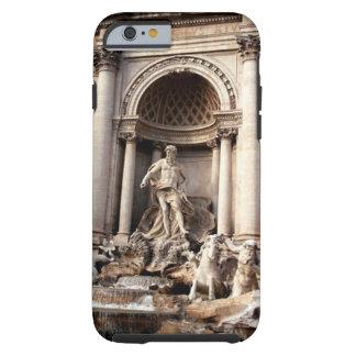 Caso duro del iPhone 6 de Roma Italia de la fuente Funda De iPhone 6 Tough