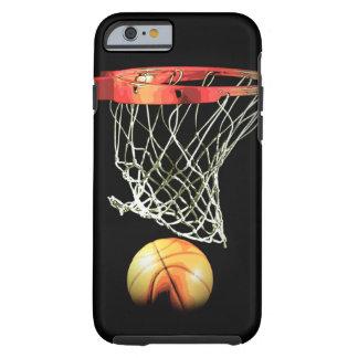 Caso duro del iPhone 6 del baloncesto elegante Funda Resistente iPhone 6