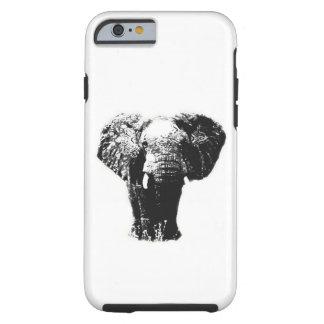 Caso duro del iPhone 6 del elefante del arte pop Funda Para iPhone 6 Tough