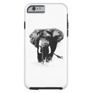 Caso duro del iPhone 6 del elefante Funda Para iPhone 6 Tough