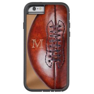 Caso duro del iPhone 6 del fútbol del vintage de Funda De iPhone 6 Tough Xtreme