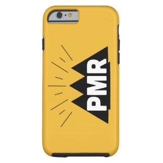 Caso duro del iPhone 6 del logotipo de PMR Funda De iPhone 6 Tough
