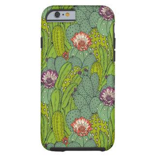 Caso duro del iPhone 6 del modelo del cactus de Funda Para iPhone 6 Tough