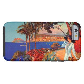 Caso duro del iPhone 6 del viaje de Antibes Cote Funda De iPhone 6 Tough