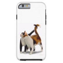 Caso duro del iPhone 6 felinos del gato de los Funda De iPhone 6 Tough