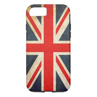 Caso duro del iPhone 7 de la bandera británica Funda iPhone 7