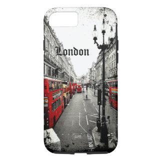 Caso duro del iPhone 7 de la calle de Londres Funda iPhone 7