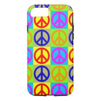 Caso duro del iPhone 7 del signo de la paz del Funda iPhone 7