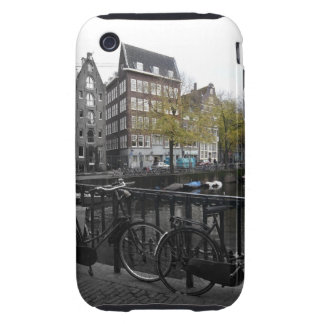 caso duro del iPhone - Amsterdam Tough iPhone 3 Carcasa