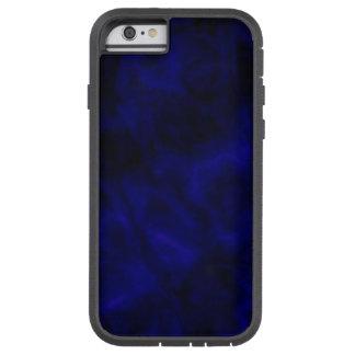 Caso duro del iPhone azul abstracto Funda Tough Xtreme iPhone 6