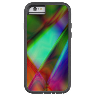 Caso duro del iPhone multicolor abstracto Funda Tough Xtreme iPhone 6