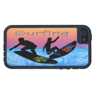 Caso duro del iPhone que practica surf 5/5S Xtreme iPhone 5 Carcasas