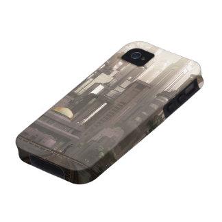 Caso duro del jardín de Gotham (verano) (iPhone 4) Case-Mate iPhone 4 Fundas