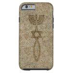 Caso duro del sello de la piedra del caso funda para iPhone 6 tough