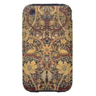 Caso DURO del tacto de iPod del Pre-Raphaelite del iPhone 3 Tough Protectores